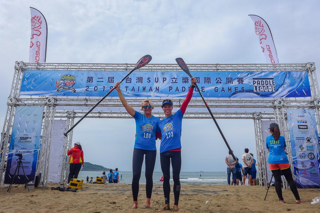 Sonni Hönscheid und Daniel Hasulyo in Taiwan