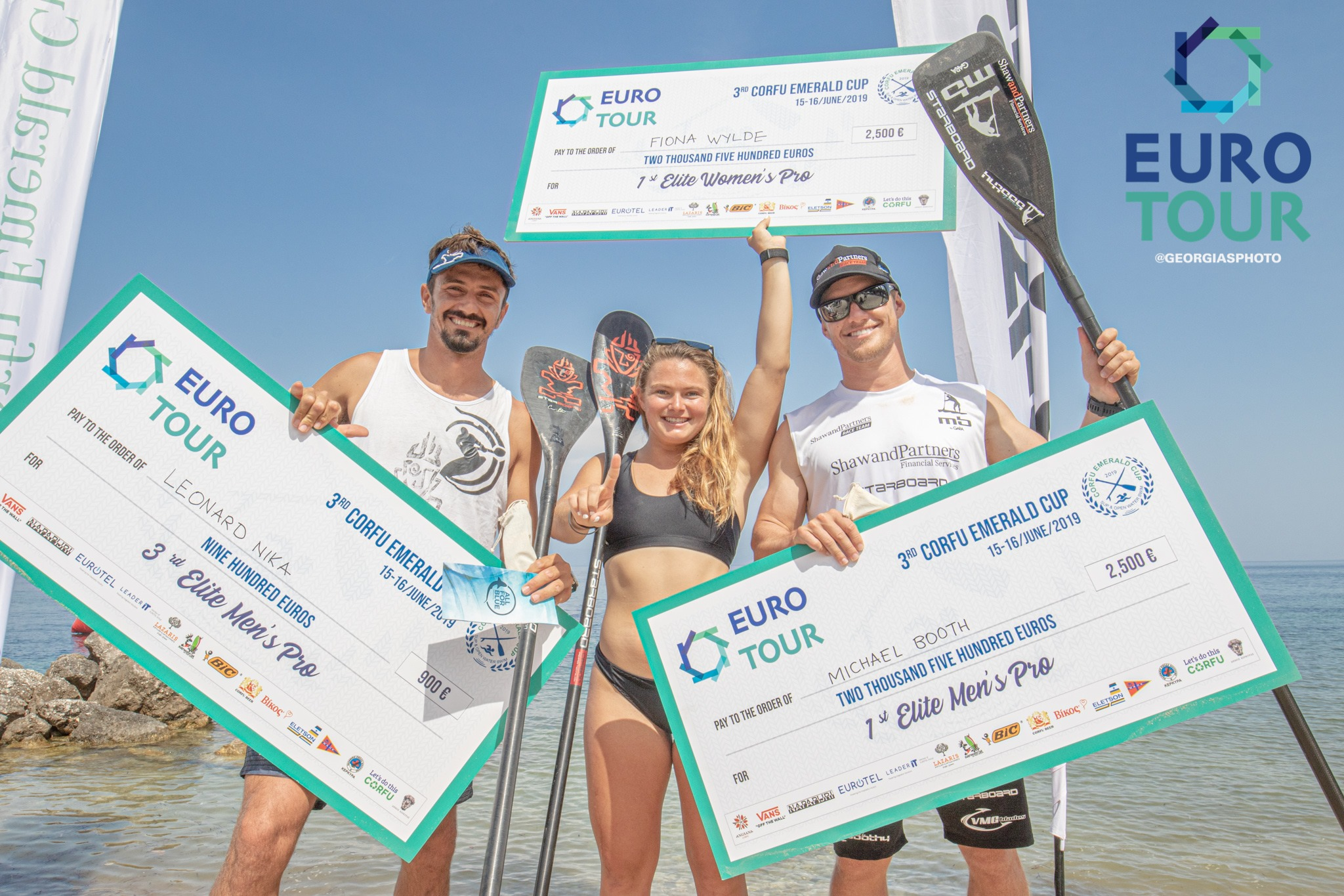 Top Performance des Starboard Teams bei der The Euro Tour