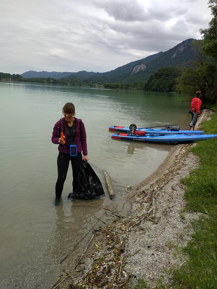 SUP Clean Up am Kochelsee