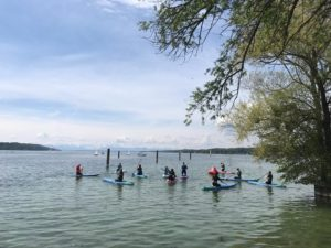 SUP Clean Up am Starnberger See
