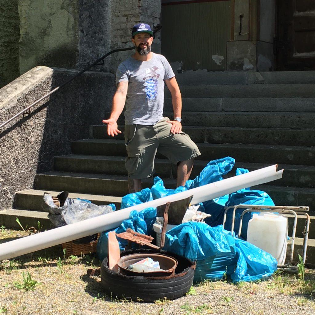 SUP Clean Up mit Mario Stecher von den Stecher Twins
