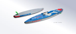 starboard sup deluxe double chamber bauweise