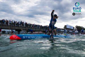 Benni Kohl beim SUP Worldcup Scharbeutz: Pic: Paul Ganse